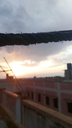 Check This Out Taken On Mobile Device Sunset Afterrain Afterrainsunset Foreground Focus Evening Sun LenovoK3Note Mumbai India Indian Mumbaikar Featureme Takenbyme Takenwithmyphone Indianphotography Indianphotographer Ropes Thatorangesky