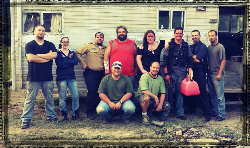 The Cast & Crew of my film 'Psycho Hiker' Check This Out Movies People Enjoying Life