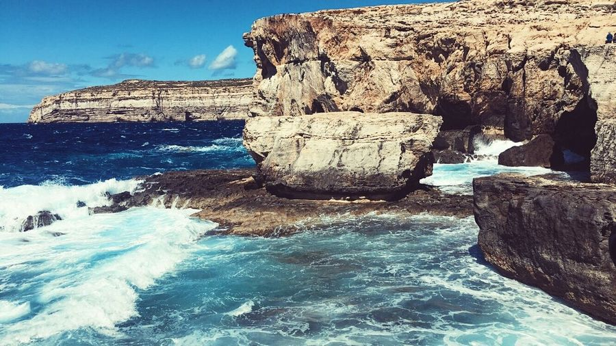 Nature Beauty In Nature Water Scenics Tranquility Sea Outdoors Travel Photography Gozo Maltaphotography Malta The Secret Spaces