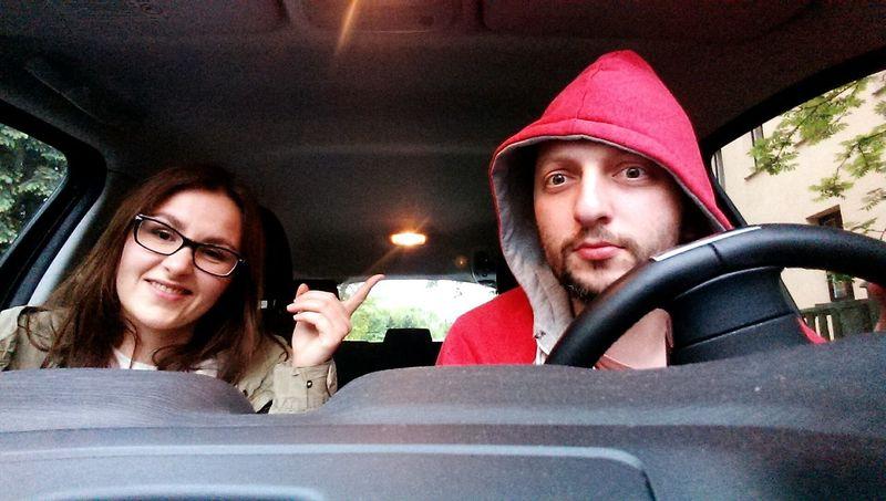 Test Drive Selfie