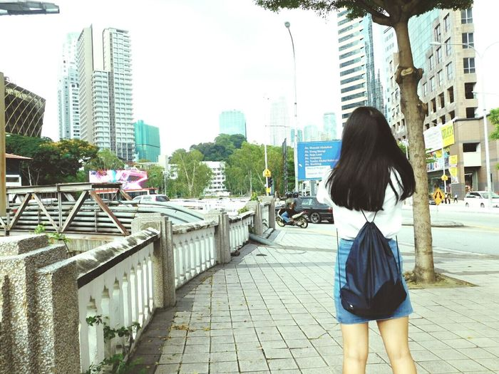 Me from the behind . City Girl Kuala Lumpur