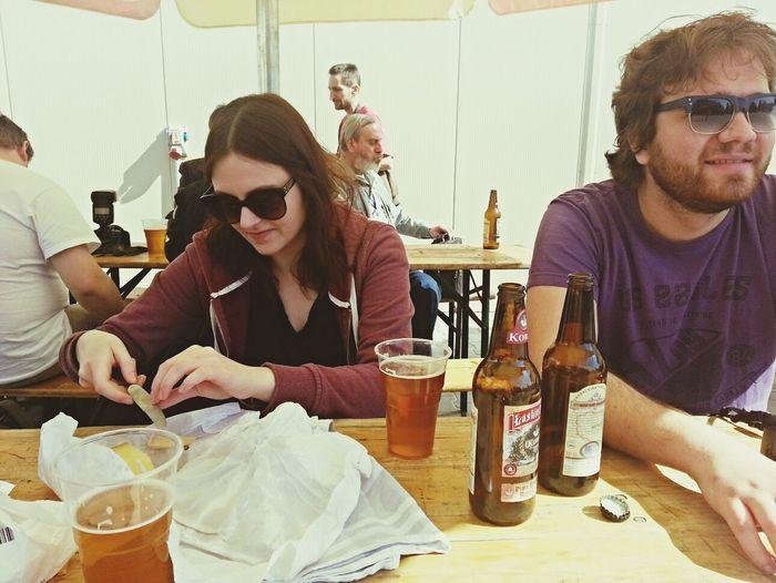 Offbeer Festival Beer żywe i miodowe