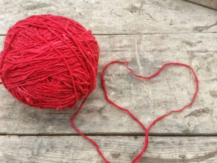 Heart of wool..
