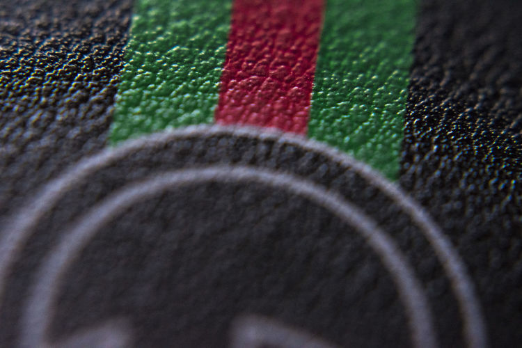 gucci belt Selective Focus Close-up No People Full Frame Multi Colored Indoors  Backgrounds Green Color Pattern Sport Textile Red Arts Culture And Entertainment Textured  Still Life Variation Choice Flag Extreme Close-up Shape Gucci Belt