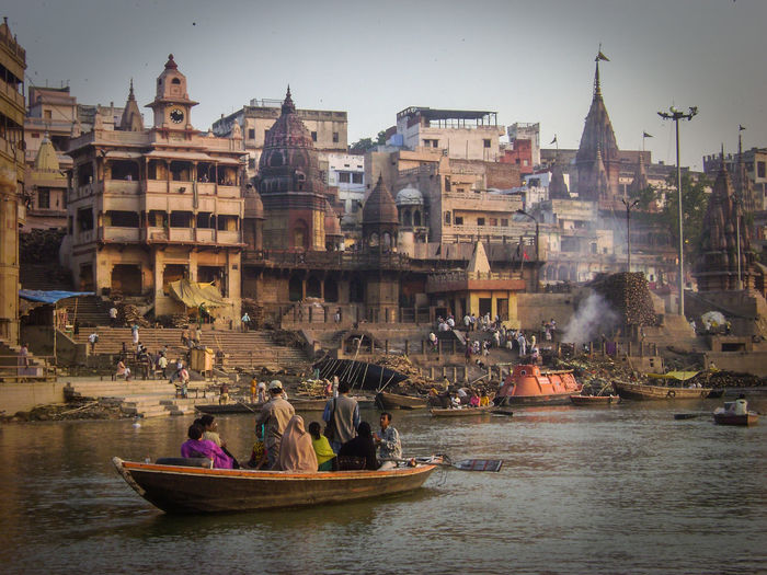 Exotic Ganges River Ghats  Ghats Of Varanasi Mother India Public Cremation Vacations Varanassi Neighborhood Map India Been There. Connected By Travel