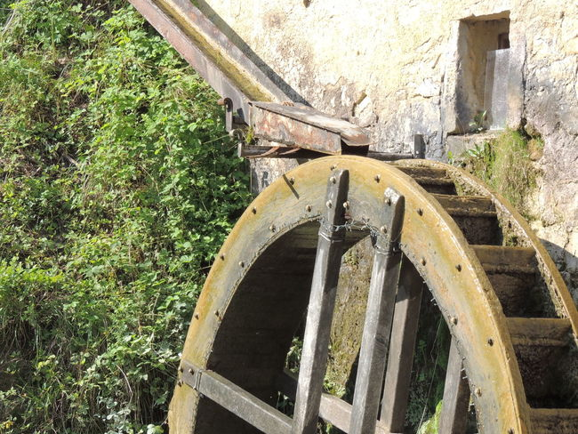 Molinetto Della Croda Close-up Day Nature No People Old-fashioned Outdoors Wagon Wheel Watermill Wheel Wood - Material
