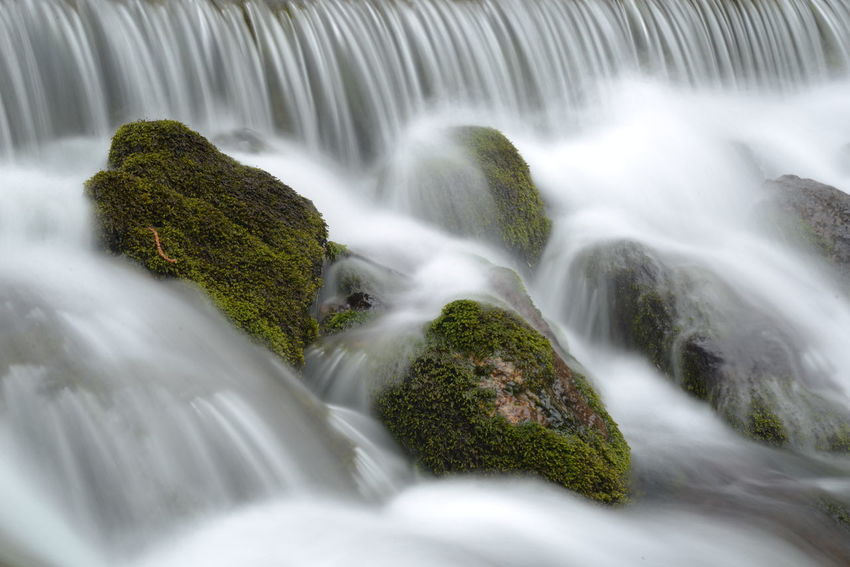 Beautiful Beauty In Nature Blue Wave Blurred Motion Easter Forrest Green Long Exposure Motion Nature No Leafs River Road Showcase April Sparkling Spring Stream Water Water Falls Water Motion Water Motions Water Source Waterfall The Great Outdoors - 2016 EyeEm Awards The Great Outdoors With Adobe