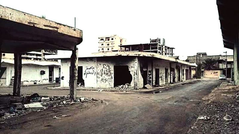 Misurata Libya Civil War Wasteland Africa Taking Photos Point Of View Check This Out