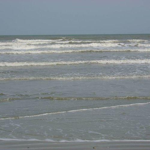 Beach Surf Corpus Christi, Tx Mid Afternoon