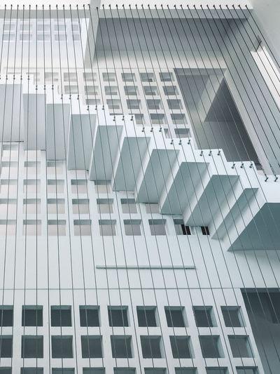 Full frame shot of minimalist architecture house interior
