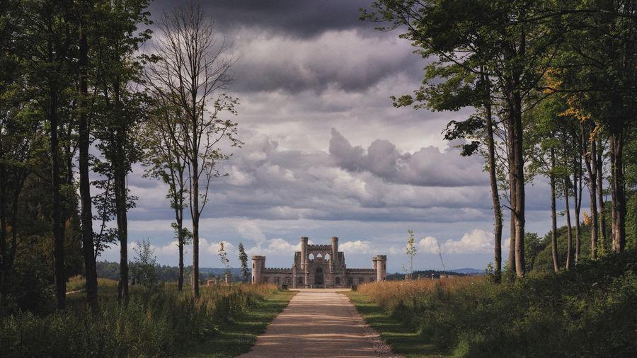 Footpath Leading Towards Castle