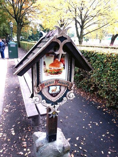 Hamburger Sign Efteling Nederland