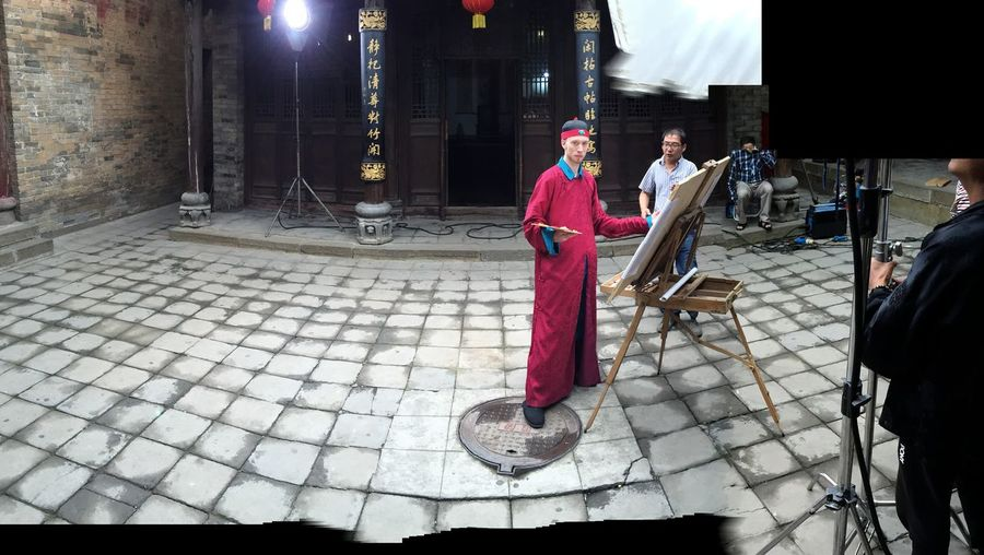 Fencheng Actor Artist China Expatlife Acting Like A Model Traditional