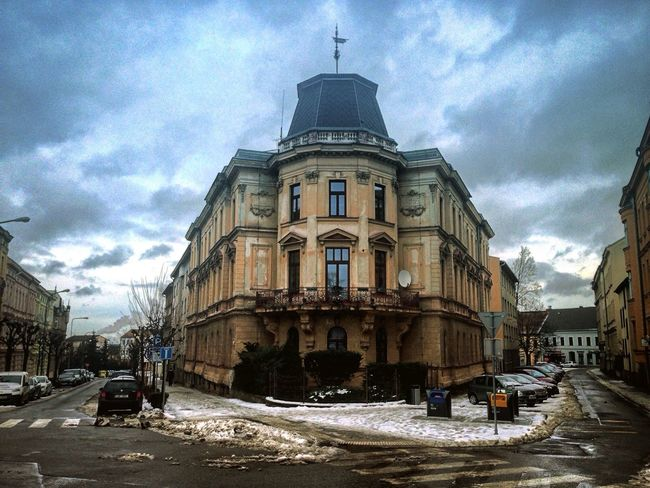 Jihlava Czech Czech Republic Walking Around Walking Winter City Snow Traveling Travel