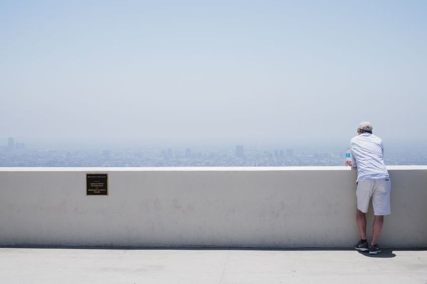 City Griffith Observatory Los Angeles, California USA Wanderlust Architecture Clear Sky Day One Person Outdoors Real People Roadtrip Scenics Sky Travel Destinations Viewpoint Be. Ready.