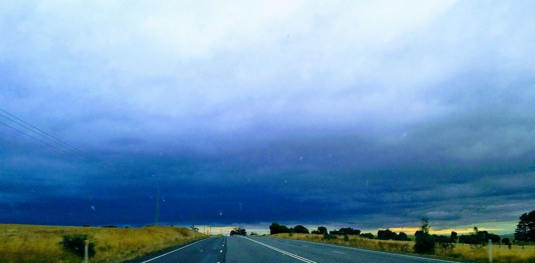 Australian Highway Australian Landscape Clouds And Sky EyeEmNewHere GALAXY S4