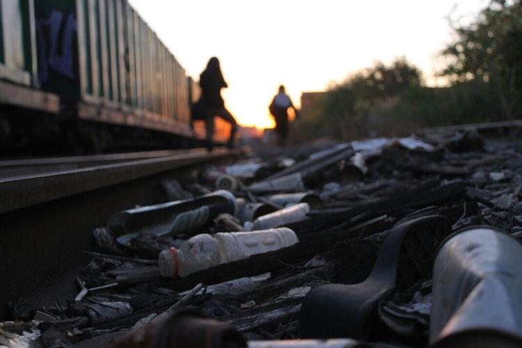 Bushwick Branch/Waste Management Rail Yard, Brooklyn, New York Enjoying The Sun Walking Around Urban Exploration Brooklyn