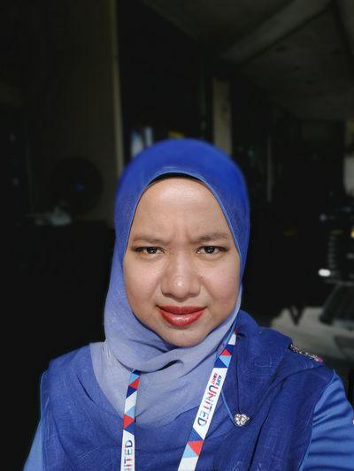 Portrait of woman in hijab