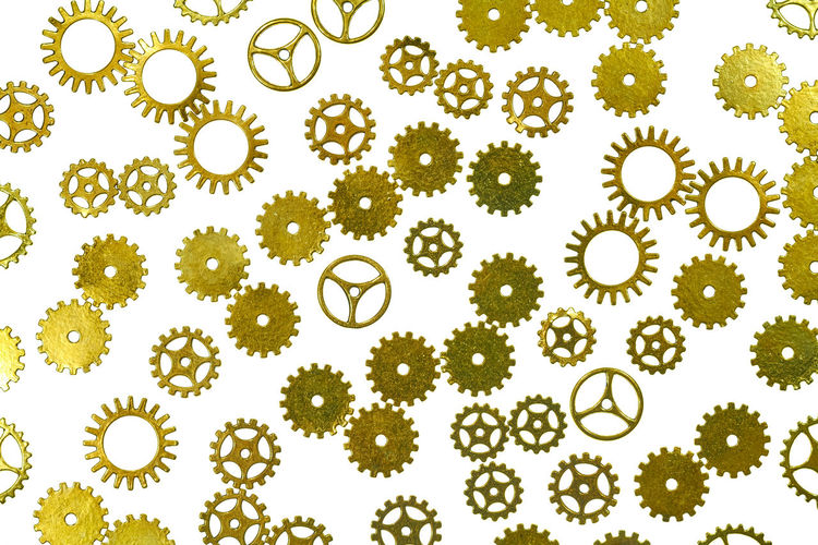 gears Abundance Backgrounds Biology Circle Design Directly Above Food Food And Drink Gear Geometric Shape Green Color Indoors  Large Group Of Objects Leaf Nature No People Plant Science Shape Steampunk Still Life Studio Shot White Background