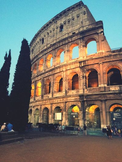Colosseo At Night Italy Hello World Enjoying Life Tourists Plaza Great Atmosphere EyeEm Surprise