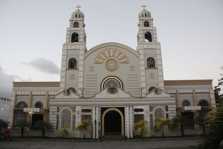 Arch Architecture Building Exterior Built Structure Cathedral Catherdral Church Day Dome Exterior Façade Façade No People Outdoors Place Of Worship Religion Sky Spirituality Sts. Peter & Paul Metropolitan Cathedral Tourism Tourist Attraction  Travel Destination Travel Destinations