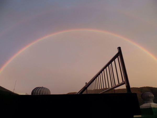 풍경 사진 취미 하늘사진 쌍무지개 Rainbow Sky Arch Beauty In Nature Clear Sky Picture Fall Hobby Beautiful