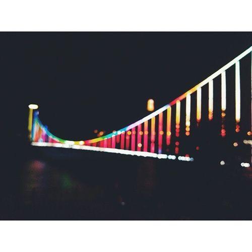 东江吊桥 东江湖 资兴 郴州 夜景 湖南 nightscene bridge suspensionbridge 春节 新年快乐 happynewyear springfestival vsco vscocam zixing chenzhou hunan china