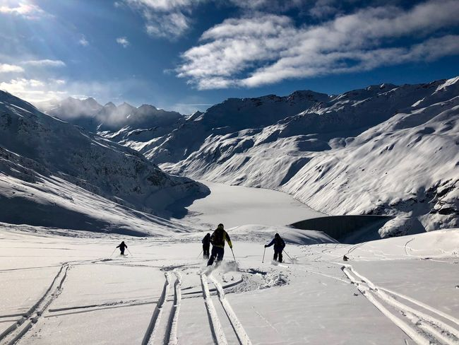 Swiss Mountains Valais Moiry Valdanniviers Grimentz Zinal Ski Snow Winter Beauty In Nature Mountain Shades Of Winter Go Higher The Great Outdoors - 2018 EyeEm Awards