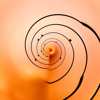 3XSPUnity EyeEm Best Shots Enjoying Life EyeEmNewHere Shape Sunset Geometric Shape Orange Color Circle No People Sky Copy Space Spiral Design Close-up Wall - Building Feature Nature Metal Indoors  Low Angle View Safety Astronomy Pattern Directly Below