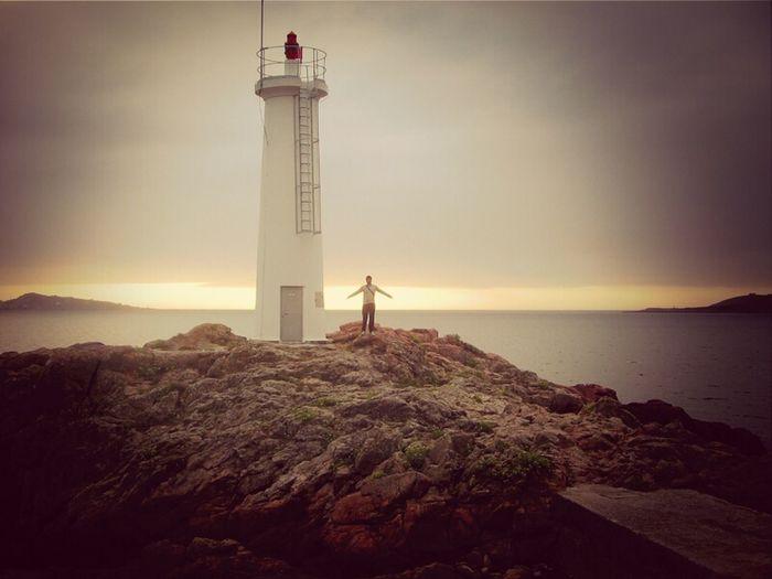 lighthouse, sea & peace Sea Lighthouse Infinity