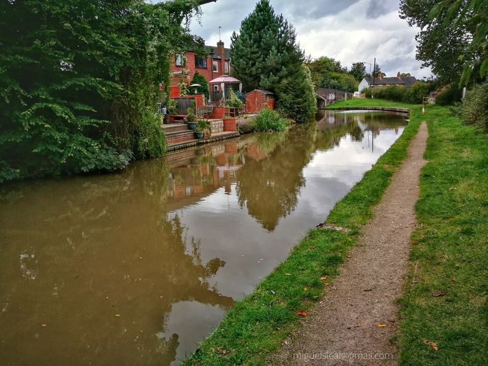 Water Tree House Canal River Anker Polesworth