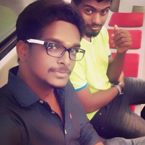 Chennai Metro CMRL Selfie Graphicdesigner Director Innomad IPhone Nammachennai Karaikal Bulleteer