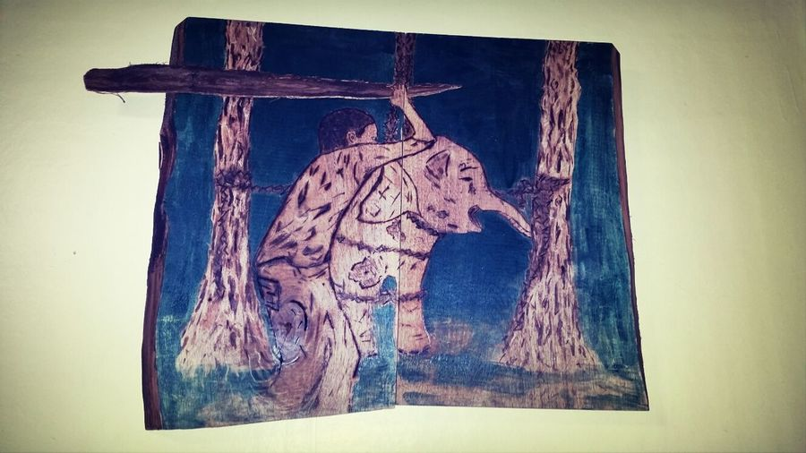 slave trade wood wood burning stain Art Drawing
