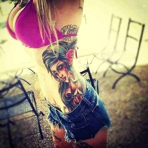 Tattoo Girls Are Beautiful Tattoos Naughty But Nice Enjoying Life