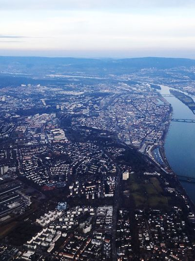Cityscape City Architecture Aerial View Building Exterior Built Structure Sky Crowded Outdoors Day Birds View Bird Eyes View Meenz Mainz Germany Fastnacht