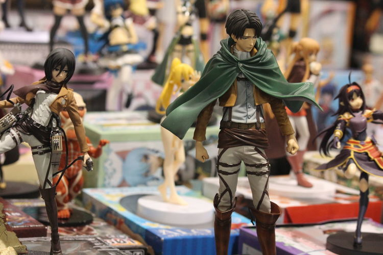 Attack on Titan Anime Animelover Art Attack On Titan Attackontitan Close-up Comicon Figure Art Focus On Foreground Toyphotography Toys