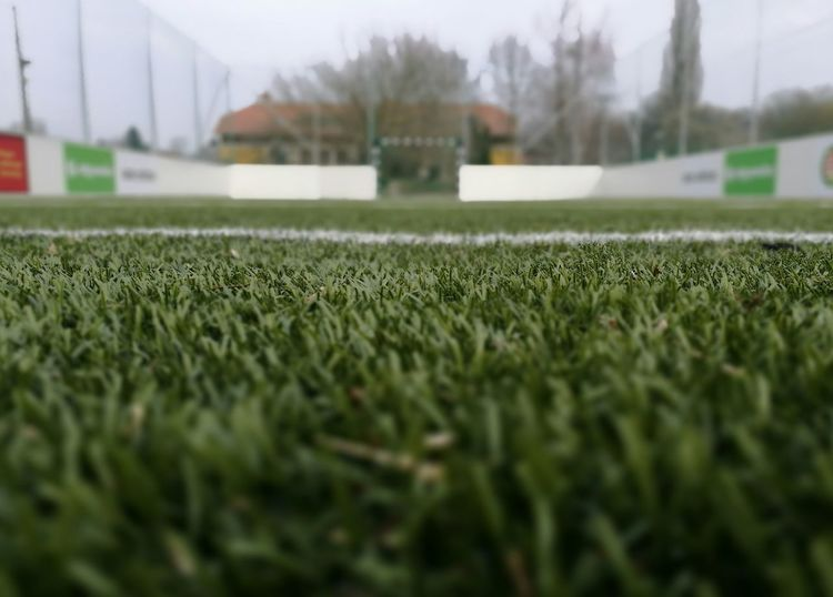 Grass Green Color Soccer Field No People Growth Sport Nature Day Outdoors Close-up Track And Field Football Football Field Football Season Soccer⚽ Soccer School School Life  Education Sports Activity