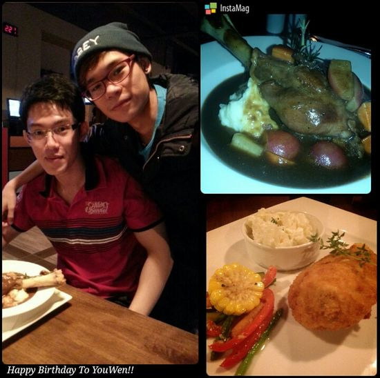 Birthday dinner at Black Bull in Avenue K with the bro~ Lifestyle :) Birthday Dinner Black Bull Avenue K