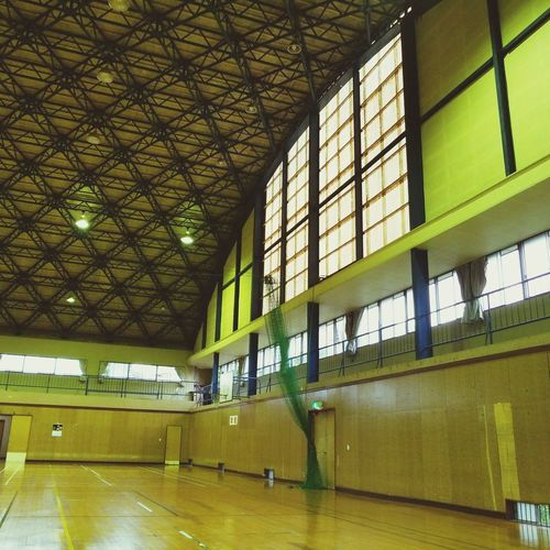 gymnasium 体育館 Gymnasium Water Window Ceiling Architecture Built Structure