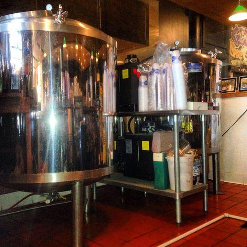 Making beer Tahoe city style
