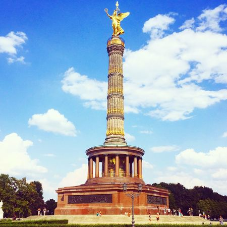 Siegessäule  Berlin Siegessäule Berlin Victory Column Tiergarten First Eyeem Photo