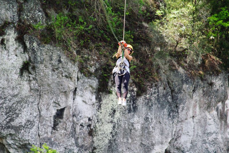 Adventure Extreme Sports Hanging Nature Beautiful Day Ziplining Day First You Must Fly Life Without Fear Listen Within Courage Living Kidney Donor Domestic Abuse Survivor Tadaa Community Tadaa Pocket_family
