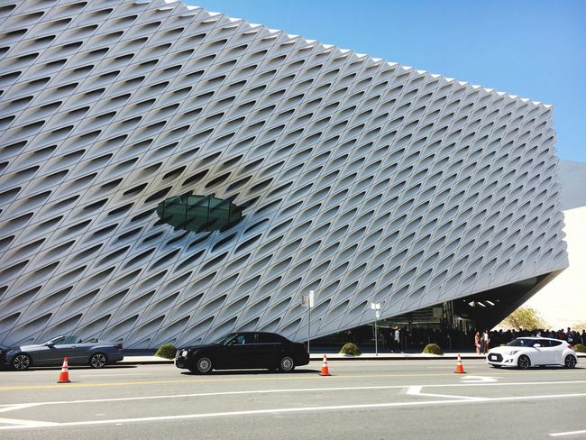Car Built Structure Road Clear Sky Outdoors Architecture Building Exterior Modern No People Day City Down Town Los Angeles DowntownLA The Broad