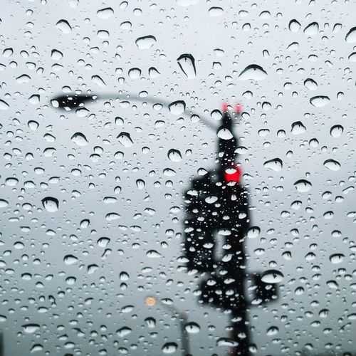 Drop Wet Water Window Rain Car RainDrop Weather Red Indoors  Full Frame Day No People Close-up City Nature Sky