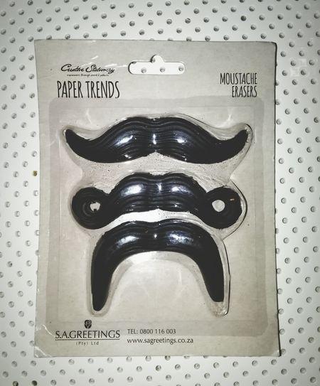 Moustache erasers😁 Moustaches Moustache Moustache ♥ Erasers Fancy