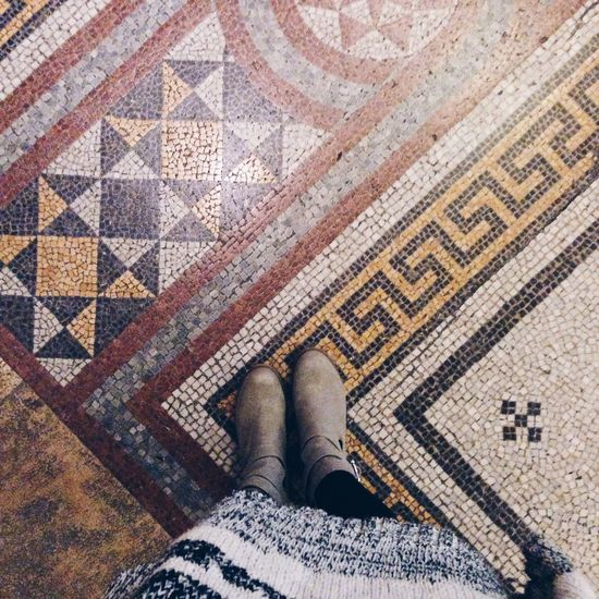 Tiles Floor Ihavethisthingwithfloors Lookingdown From My Point Of View From Where I Stand Ootd Museum Everything In Its Place