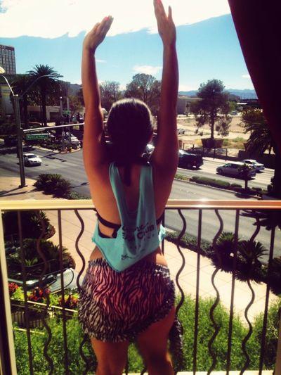 View from the encore beach club balcony :) Enjoying Life Fun Times Las Vegas Vegas2013