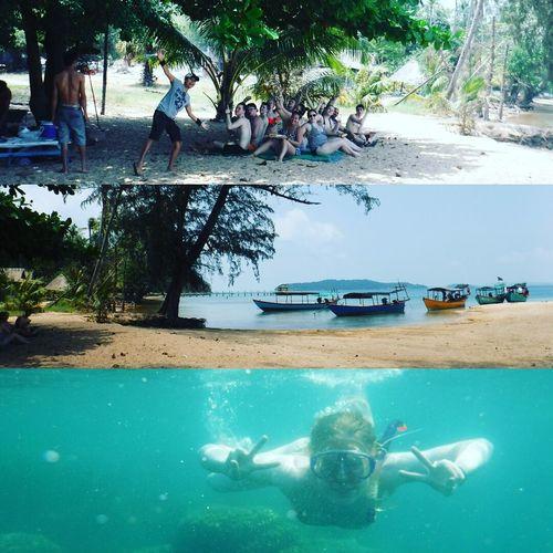 Snorkling tripvon Nha Trang beach, had our own little island for lunch 👌 First Eyeem Photo
