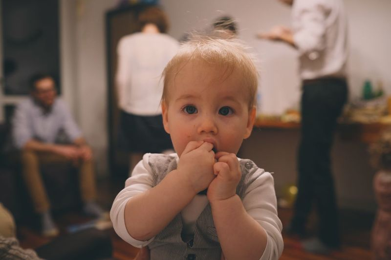 EyeEm Selects Child Focus On Foreground Childhood Real People Baby Incidental People Innocence Babyhood Cute Front View Portrait
