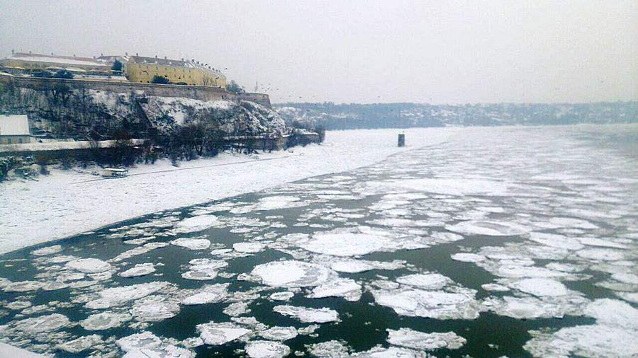 Danube,ice, Water,No People , WINTER Snow Outdoors Frozen Cold Temperature Day